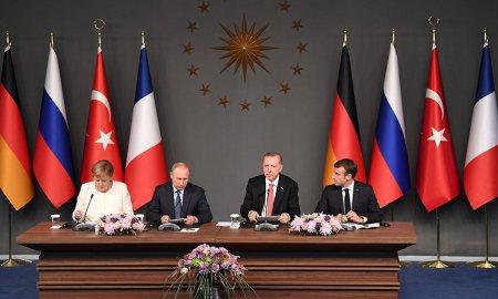 Διάσκεψη Λιβύη Μέρκελ Μακρόν Ερντογάν Πούτιν Βερολίνο