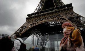 Γαλλία κορωνοϊός Πύργος Άιφελ