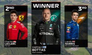 Bottas Leclerc Norris