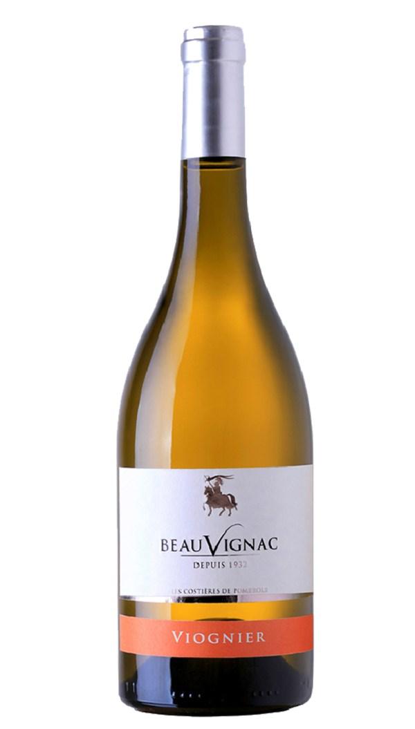Les Costières de Pomerols Beauvignac Viognier available from Fettah Wine Services