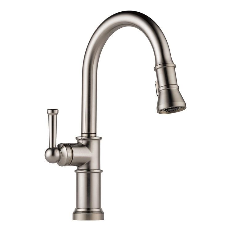 brizo 63025lf kitchen faucet f w