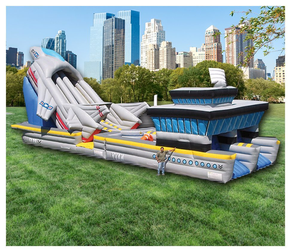 Aircraft Carrier Obstacle Course Rental Fantasy World
