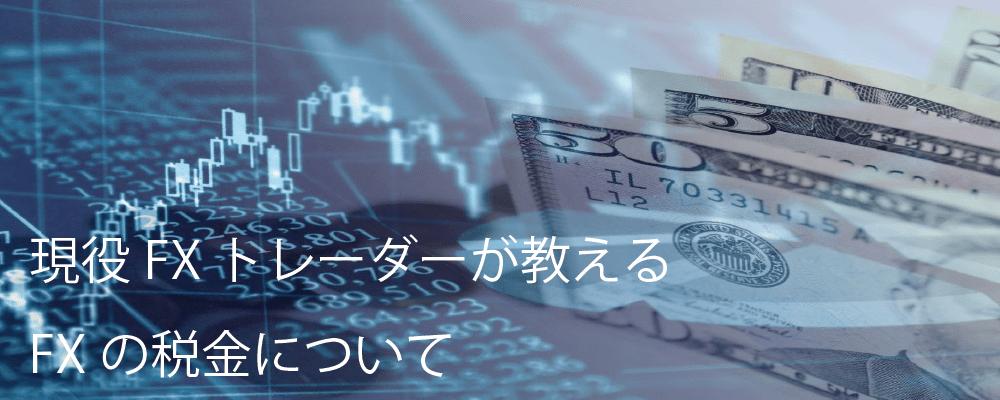 FX 税金 節税