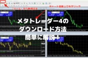 FXTFメタトレーダー4を簡単ダウンロード・インストールする方法とは?
