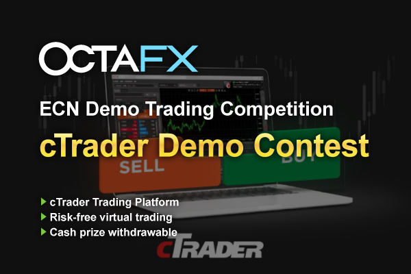 OctaFX cTrader Weekly Demo Trading Contest | Trading Contest