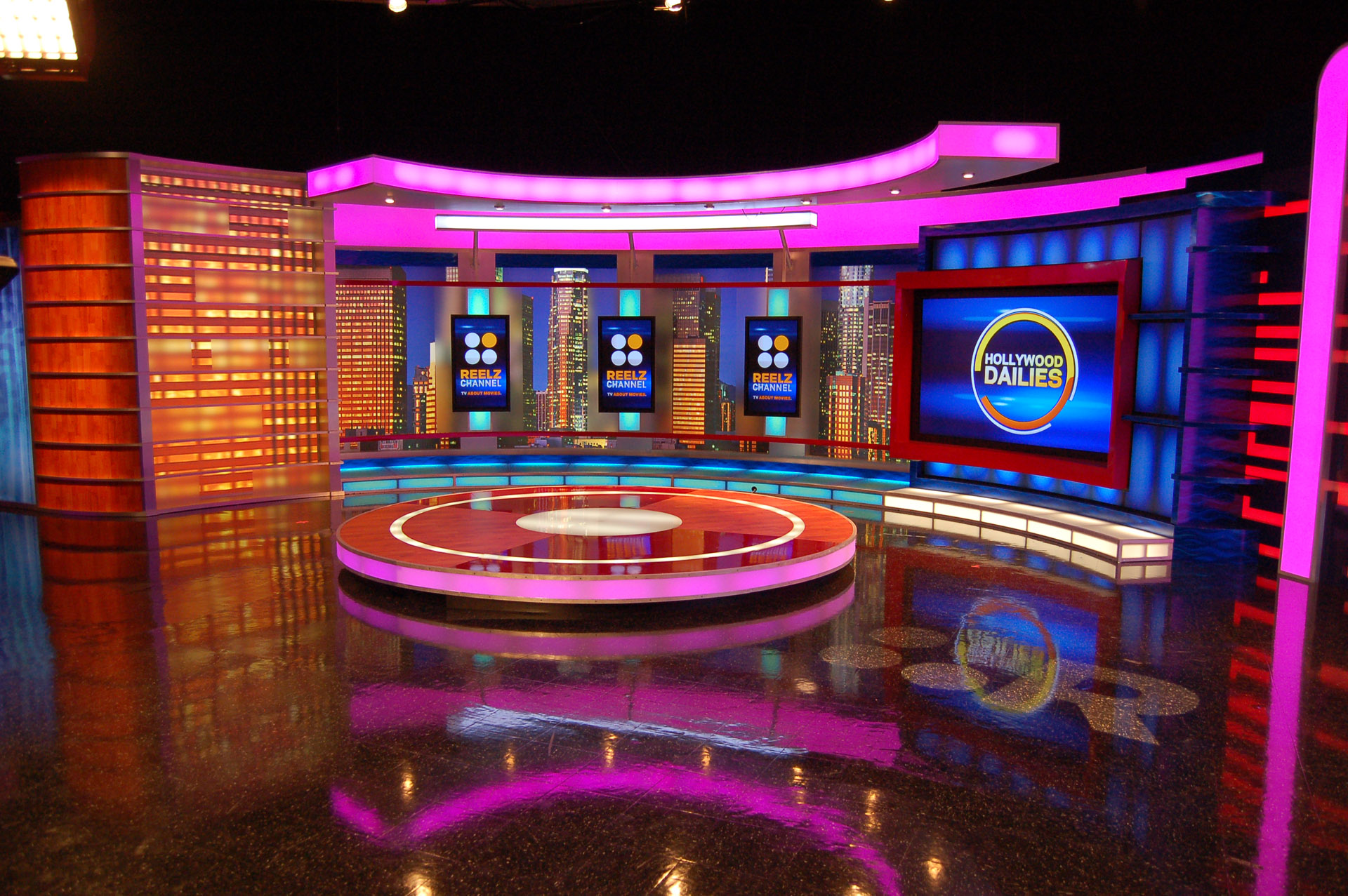 Design Shows On Tv Award Winning Talk Show Set Design From Fx Design Group  Fx