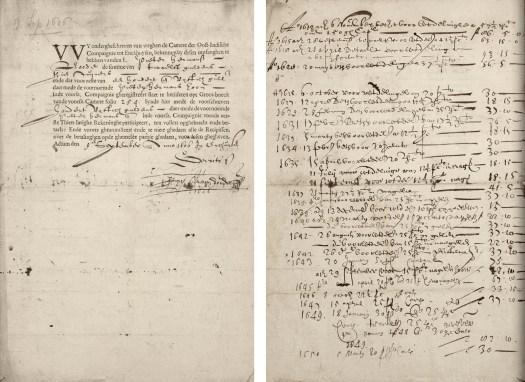 Aandeel VOC 9 september 1606