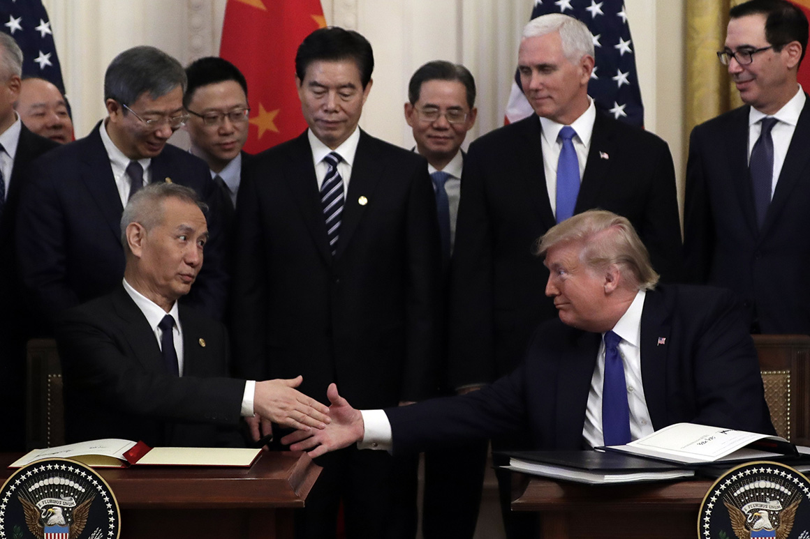 Trump hypes modest China deal, distracting from impeachment