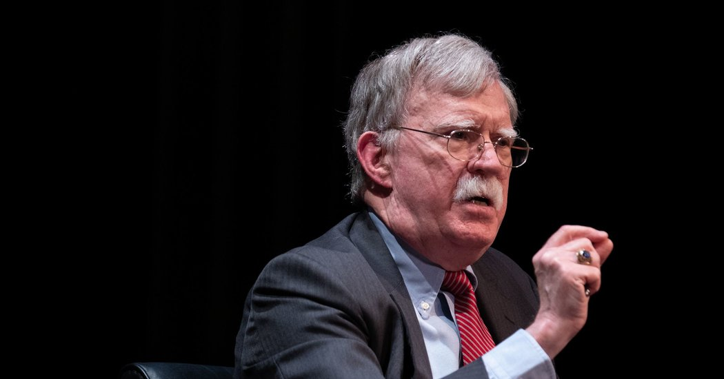 Bolton Hints at Additional Revelations if He Overcomes White Home 'Censorship'