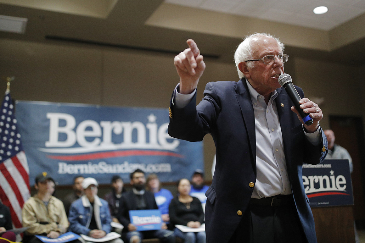 Bernie's local weather play: A federal takeover of electrical energy manufacturing