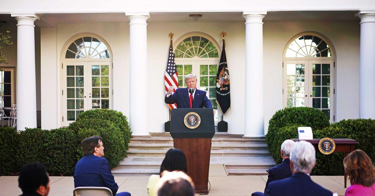 "Leaked audio: Trump says ""I haven't heard"" about coronavirus testing downside"