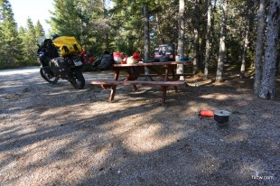 Camping ground with heated showers and batrooms