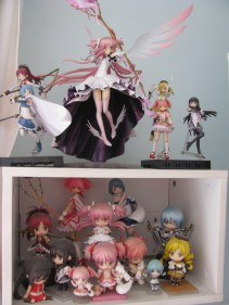 Madoka corner. The collection I'm the most proud of ♥