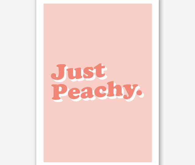 Just Peachy By Mambo