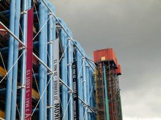 Vorderseite Centre Pompidou