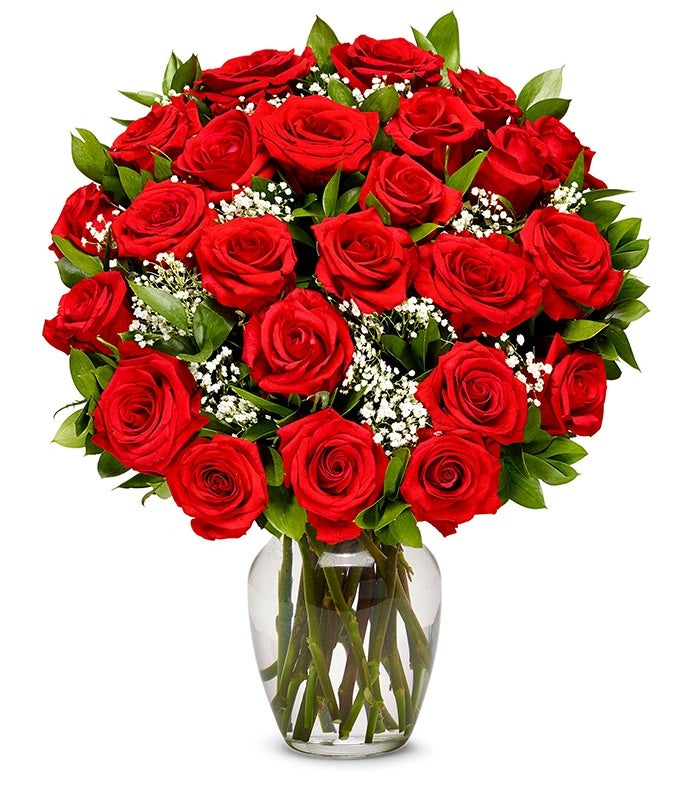 Two Dozen Red Roses At From You Flowers