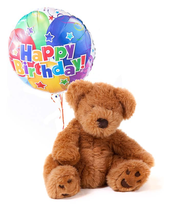 Happy Birthday Bear Amp Balloon At From You Flowers