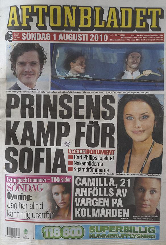Peter Ahborg är med i Aftonbladet söndagen 1 augusti 2010. Aftonbladet granskar hemlösa barn. Pappa blev blev hemlös. Därför tvingas tolvåriga Nina sova på olika vandrarhem och i tält när hon ska bo hos honom, skriver Aftonbladet