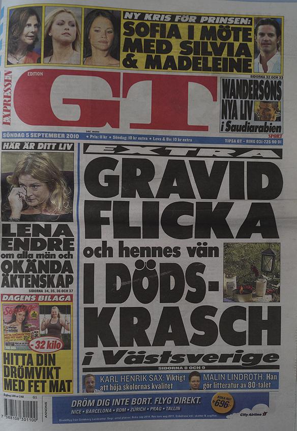 Peter Ahlborg är med i Expressen/GT söndagen 5 september 2010, sidorna 26 och 27. (Han gjorde film om sitt hemlösa liv).