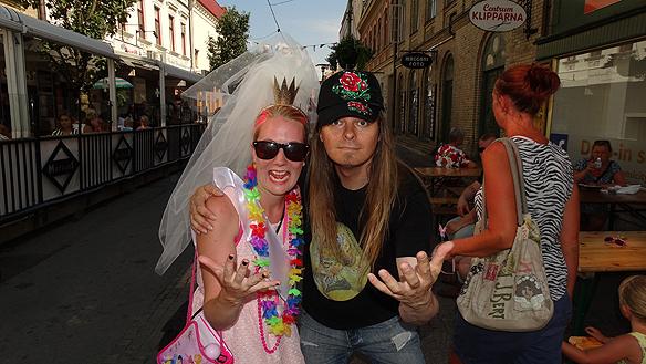 Träffade Elinor som ska gifta sig denna helgen i Ljungskile