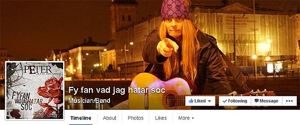 Nu finns Fy fan vad jag hatar soc på Facebook på http://www.facebook.com/fyfanvadjaghatarsoc