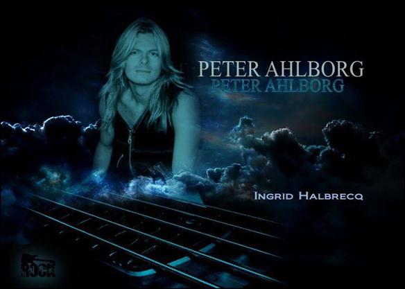 Bild på Peter Ahlborg gjord av Ingrid Halbrecq.