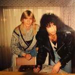 Stort Kiss-fan i Sverige gör film om sitt liv som hemlös