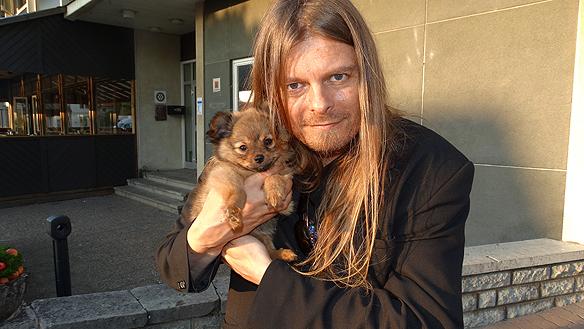 Träffade på denna härliga lilla söta hundvalp vid namn Kiara i Herrljunga. Foto: Privat