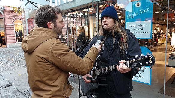 Sveriges Radio, P4 Jönköping kom förbi och gjorde en intervju med Peter Ahlborg under besöket iJönköping.