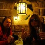 Peter och Sukis besöker Restaurang Hamlet