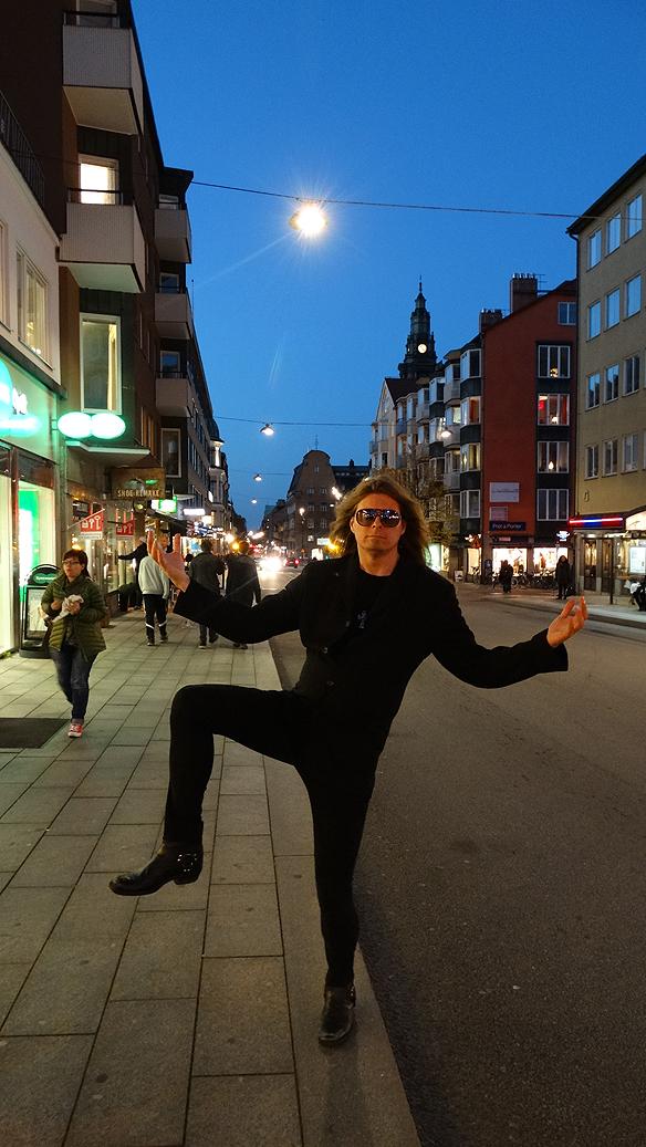 Peter Ahlborg i Linköping. Foto: Hasse Sukis