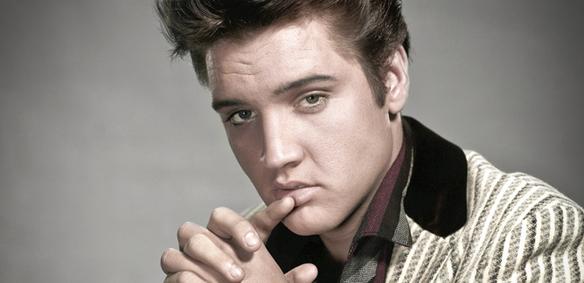 Peter Ahlborg har skrivit en hyllningslåt till sin stora idol - Elvis Presley som den 8 januari 2015 skulle ha fyllt 80 år.