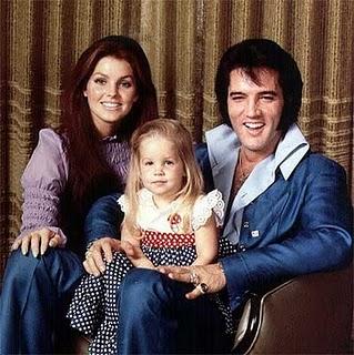 Elvis Presley gifte sig med Priscilla den 1 maj 1967. De var tillsammans till den 3 oktober 1973. De fick dottern Lisa Marie Presley som föddes den 1 februari 1968.