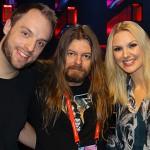 Peter Ahlborg bevakar Melodifestivalen för tidningen Faktum