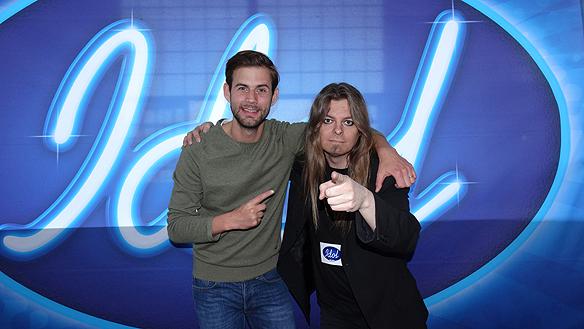Peter träffar programledaren Per Lernström under Idol 2014. Nu 2015 blir det sista chansen att träffa Idol juryns medlemmar Laila Bagge, Anders Bagge och  Alexander Bard.