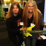 Träffade briljanta basisten Magnus Rosén
