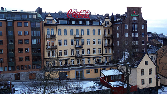 """SHIS Bostäder har hittills kunnat ordna boenden och stöd i upp till sju år. Nu blir det första gången det handlar om förstahandskontrakt för människor som har det extra svårt. """"Bäst av allt att de hemlösa får lägenheter som är insprångda över hela Stockholm - även i  centrala Stockholm, säger Peter Ahlborg"""". Foto: Peter Ahlborg"""