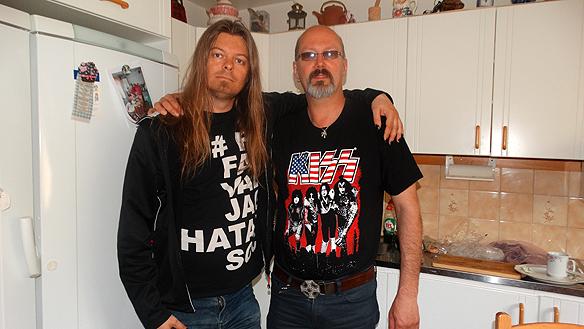 Peter Ahlborg träffar på sin kusin Ingemar Lönnqvist.