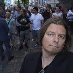 Peter Ahlborg bevakade när E Street Band anlände till Göteborg