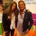 Peter Ahlborg träffar sin vän författaren Björn Ranelid på Bokmässan 2016