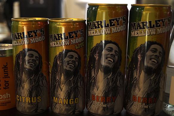 Bob Marley - reggaelegenden lever vidare med musik och prylar som bär hans namn långt efter hans död 1981. Foto: Peter Ahlborg