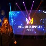 Nu börjar Melodifestivalen 2017 och Peter Ahlborg följer cirkusen