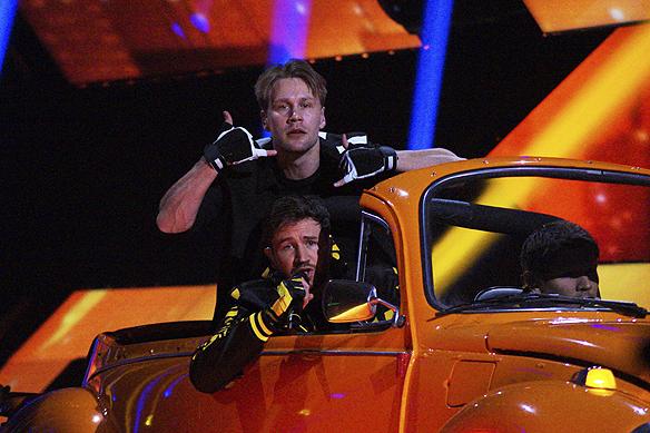 """De Vet Du gick vidare till andra chansen med låten """"Road Trip"""".Foto: Peter Ahlborg"""