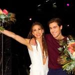 Mariette och Benjamin Ingrosso gick vidare från andra deltävlingen i Melodifestivalen i Malmö