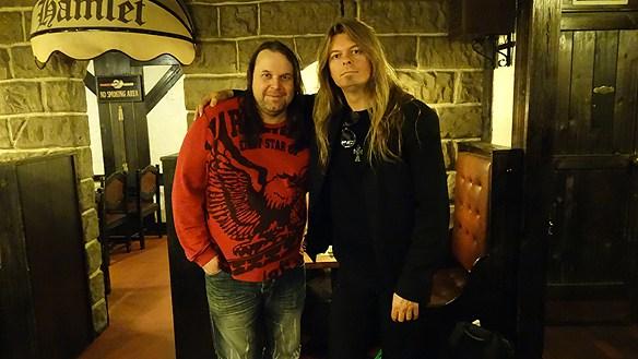 Här syns Peter Ahlborg och Hasse Sukis tillsammans i november 2014 i Linköping. (Arkivbild)