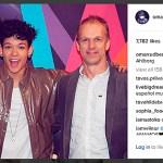 Peter Ahlborgs familjebild på FO&O medlemmen Omar Rudberg fick över 7 700 gilla på Instagram