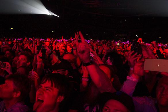 Kiss-fansen har alltid älskat sin gudar i rockgruppen Kiss. Foto: Peter Ahlborg