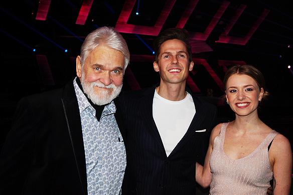 Hasse Andersson, David Lindgren och Clara Henry var programledare för Melodifestivalen 2017, men David Lindgren fick förnyat förtroende av Melodifestival ledningen och är ensam programledare för Melodifestivalen 2018, som har premiär i Karlstad den 3 februari 2018. Foto: Peter Ahlborg