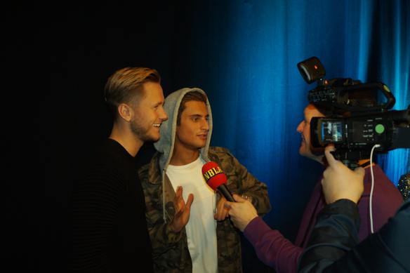"""Samir & Viktor är med i Melodifestivalen för tredje gången. Denna gång under 2018 medverkar de med låten """"Shuffla"""", där de ska lära svenska folken en ny dans: """"Shuffla"""". Foto: Peter Ahlborg"""