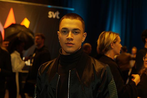 """Artisten Liamoo vann idol 2016 - och kan även vara vinnaren i Melodifestivalen 2018. Han tävlar i Göteborg, den 10 februari 2018 med låten """"Last Breath"""". Foto: Peter Ahlborg"""